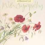 Sympathy Card: Country Diary Poppies