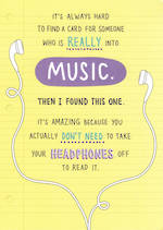Just Saying: Music
