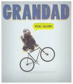 Grandad Birthday Card: Duck & Dive Bear