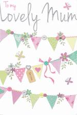Mum Birthday Card: Made With Love Lovely
