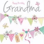 Grandmother Birthday Card: Made With Love