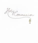 Communion Card: Mimosa Holy