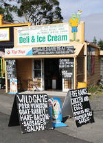 Pure NZ - Moana Rd: Deli And Ice Cream