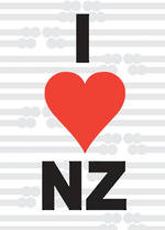 Pure NZ - National Pride: I Love NZ