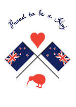 Pure NZ - National Pride: Proud Kiwi