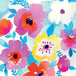 Napkins: Paper Products - Lunch Watercolour Floral