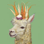 Napkins: Paper Products - Lunch Garden Alpaca