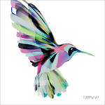 Napkins: Paper Products - Lunch Corfu Hummingbird