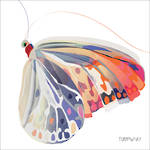 Napkins: Paper Products - Lunch Corfu Butterfly