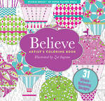 Artist Colouring Book: Believe