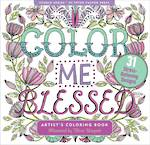 Artist Colouring Book: Blessed