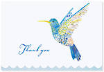 Thank You Note Cards: Hummingbird