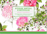 Sticky Notes: Rose Garden