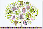 Note Cards Owl Forest