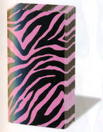 Hankies Sniffs Zebra Pink Facial Tissues