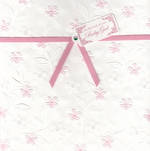 Baby Card Girl: Ribbon Flowers
