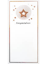 Congratulations Card: Inca Small Slim
