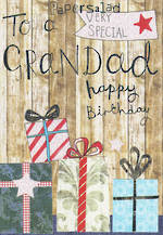 Grandad Birthday Card: Very Special Grandad Gifts