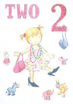 Age Card 2: Girl Tamsin Handbag & Heels