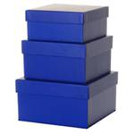 Gift Box Nest: Small - 3 Blue
