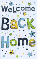 Welcome Home Card: Simson Welcome Back