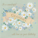 Grandmother Birthday Card: Wonderful With Love