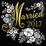 Wedding Card: Married In 2017