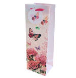 Gift Bag: Bottle - Female Floral