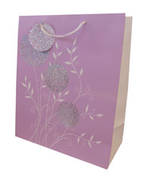 Gift Bag: Large - Female Flowers Holo Foil (2 Assorted)