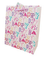 Gift Bag: Medium - Female Happy Birthday