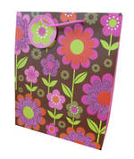 Gift Bag: Medium - Female Mod Floral (2 Assorted)