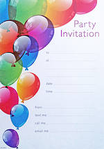 Party Invite: General Birthday