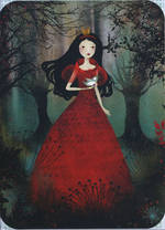 Santoro Eclectic: Gorjuss - Red Queen & Bird