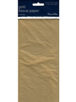 Tissue Paper Pack: Gold