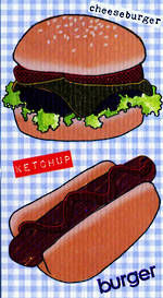 Mini Card: Burgers & Hotdogs