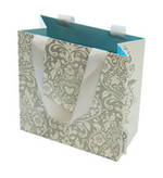 Gift Bag: Small - General Baroque Silver