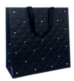 Gift Bag: Large - General Quilted Ebony