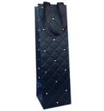 Gift Bag: Bottle - General Quilted Ebony