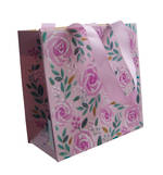Gift Bag: Small - Pink Roses