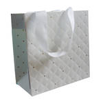 Gift Bag: Small - General Quilted Pearl