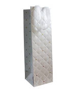 Gift Bag: Bottle - General Quilted Pearl