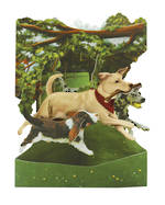 Santoro Swing Cards: Dogs In Park