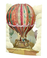 Santoro Swing Cards: Hot Air Balloon