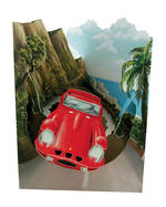 Santoro Swing Cards: Red Car