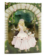 Santoro Swing Cards: Princess On Swing