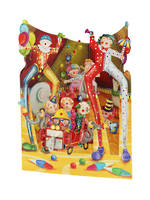 Santoro Swing Cards: Clowns