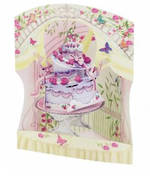 Santoro Swing Cards: Celebration Cake