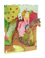 Santoro Swing Cards: Girl On Horse