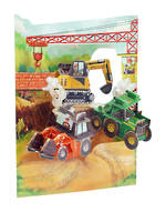 Santoro Swing Cards: Bulldozers