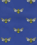 Folded Wrap: Bumble Bee Blue